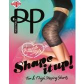 Pretty Polly Shape It Up Lace Shaper Short